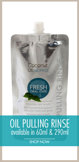 Coconut Oil Pulling Rinse
